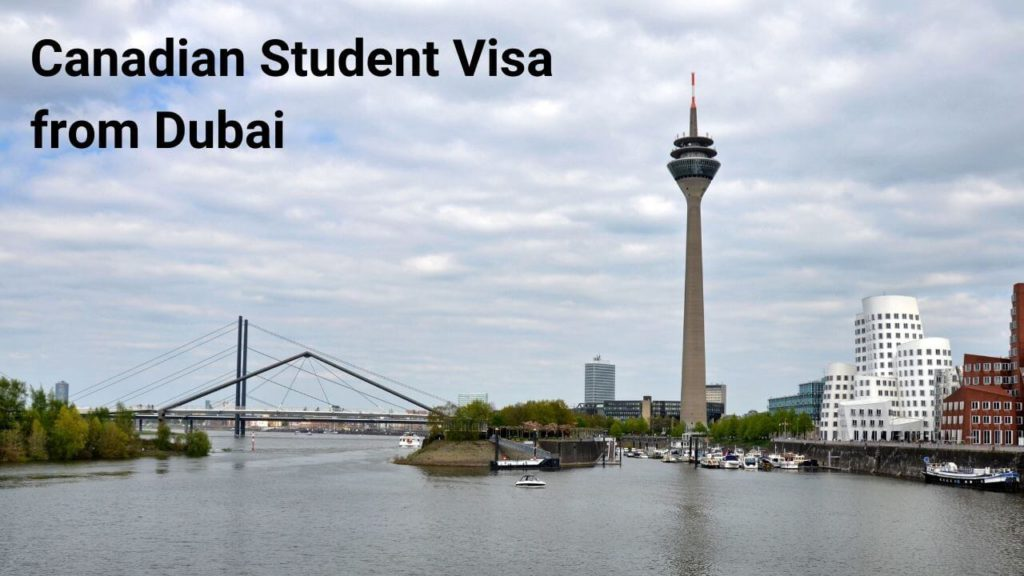 Canadian Student Visa from Dubai