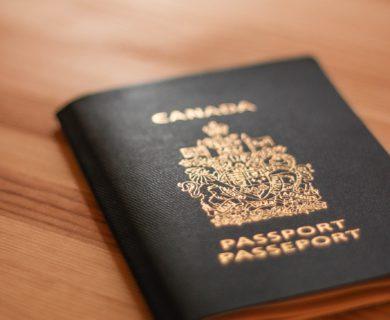 passport, canada, document